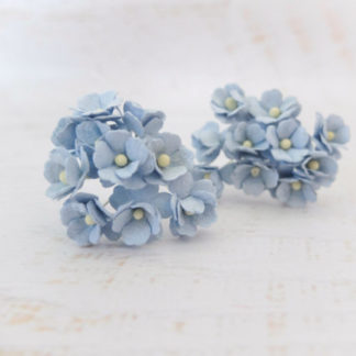 2 cm mulberry paper hydrangea 100 pcs craft flowers supplies youre viewing 2 cm mulberry paper hydrangeas 20mm paper flowers with wire stems 550 mightylinksfo