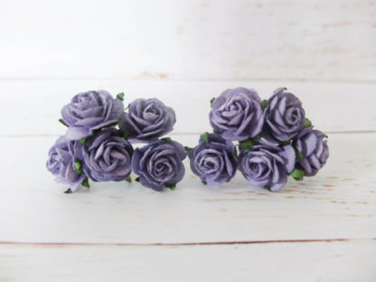 1 inch mulberry paper roses ...