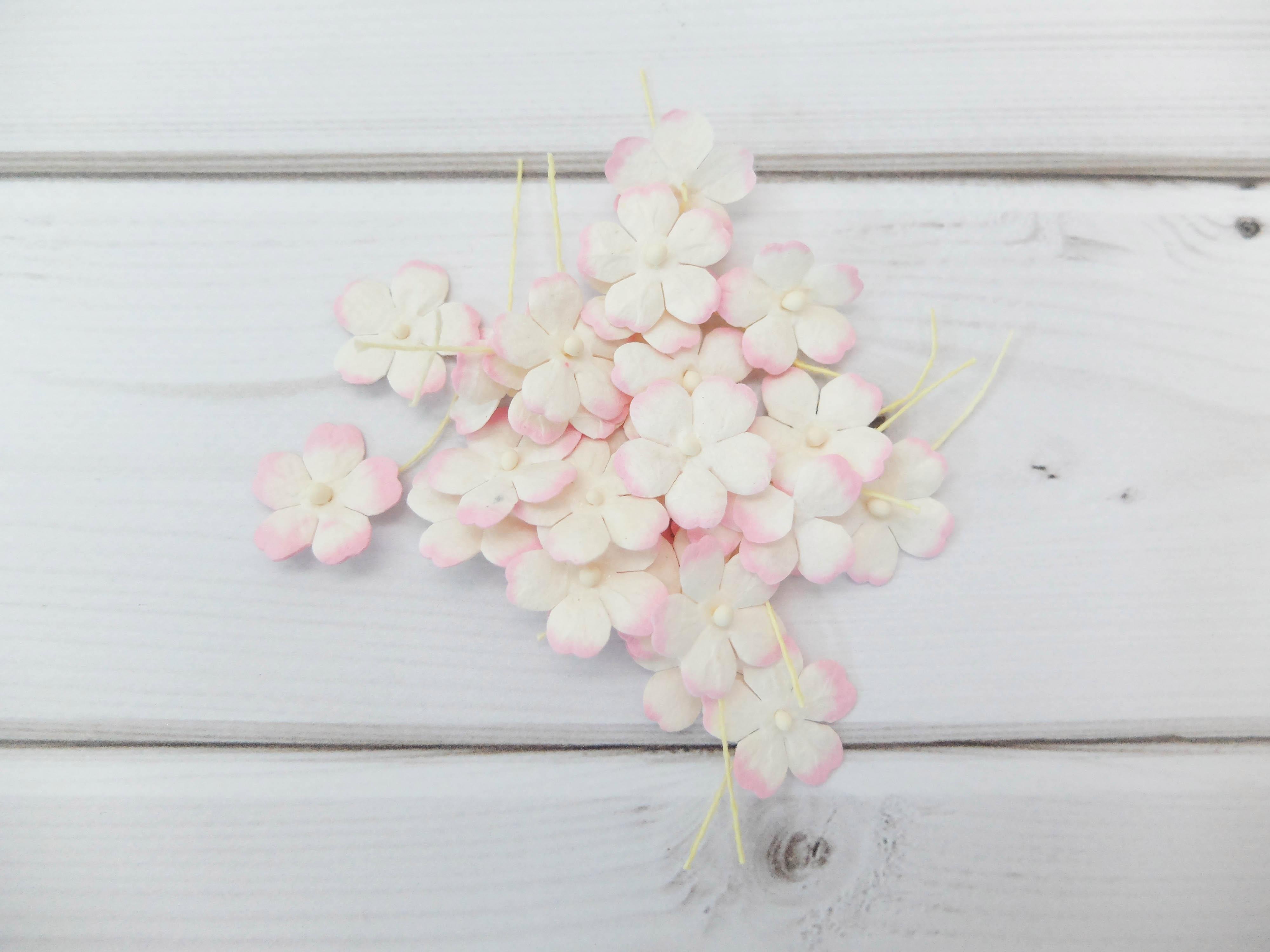 20mm paper flower embellishments 100 pcs mulberry paper flat 20mm paper flower embellishments mightylinksfo