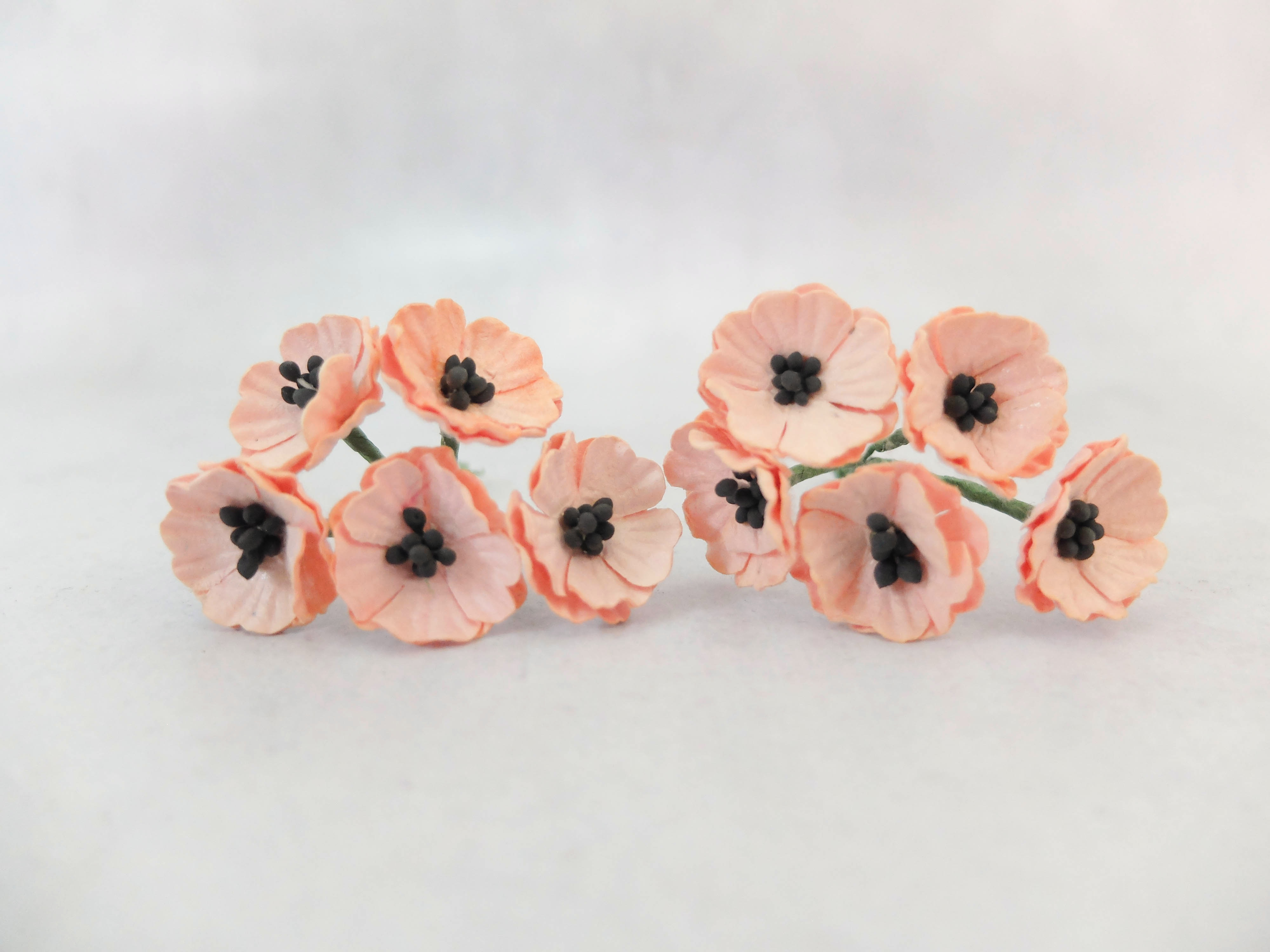 2 cm paper poppies mulberry paper flowers wholesale 20mm paper mightylinksfo