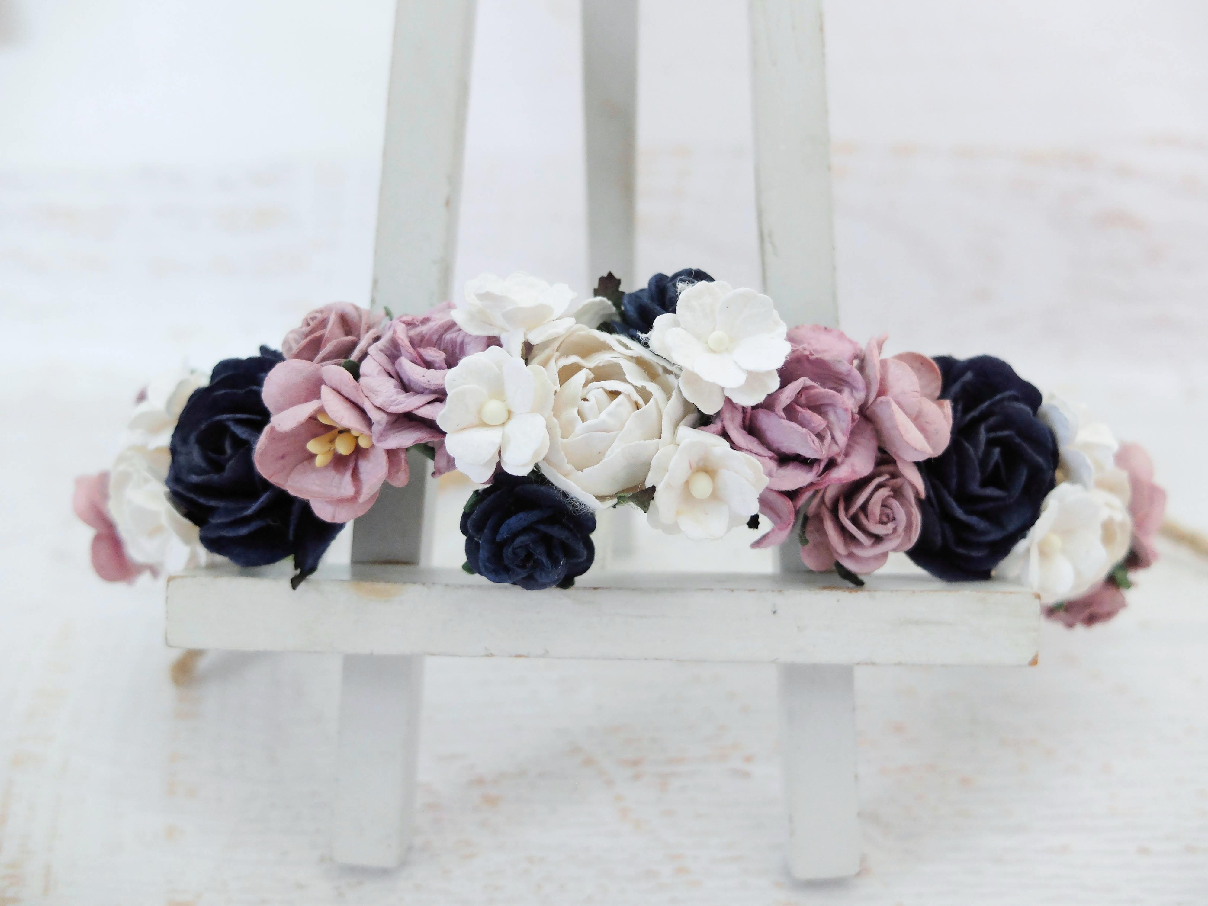 Wedding Flower Crowns Maternity Shoot Bridal Floral Headpiece Flower