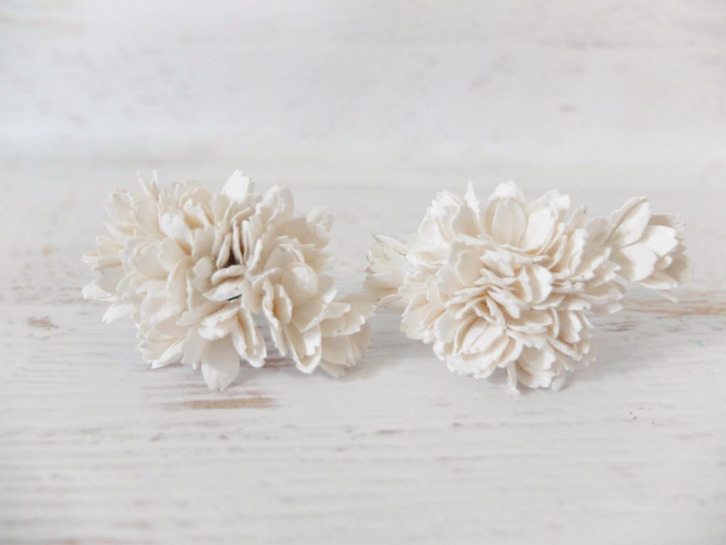 20mm mulberry paper accent flowers wholesale 2 cm flowers